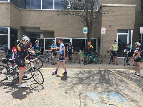 7b6c4c2d4dc BRAC held our first clinic of our Women's+ Bike Racing Initiative Series  April 20th and had a great turnout of 17 folks. Attendees spanned from  triathletes ...